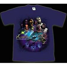 Star Trek Tv & Movie Klingons & Bop Collage T-Shirt Size Large New Out Of Print