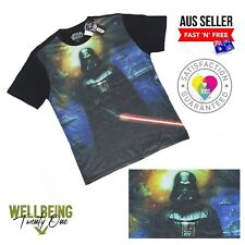 Genuine Disney Star Wars Vintage Style Darth Vadar T-shirt (M)