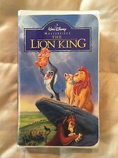 The Lion King (VHS, 1995) Disney