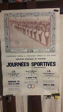 AFFICHE  JOURNEES SPORT TOULOUSE 1941
