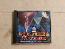 The Weather Channel Everything Weather Mac CD-Rom 1995