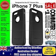 OtterBox iPhone 8 Plus 7 Plus Commuter Case Cover Genuine Black Tough Strong