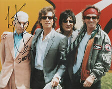 CHARLIE WATTS Signed 10x8 Photo THE ROLLING STONES COA