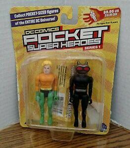 Silver Age Aquaman & Black Manta DC Comics Pocket Super Heroes/Series 1