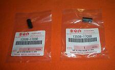 2x Stopfen Gummi Kappe Vergaserdeckel Suzuki GS 500 GSX 750 GSF 600 1200 Bandit