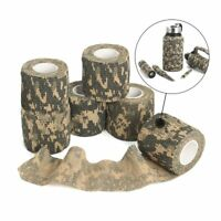 1 Roll Camo Gun Hunting Waterproof Camping Camouflage Stealth Duct Tape Wrap