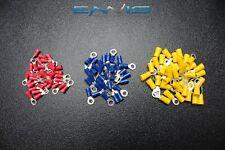 150 PK 10-12 14-16 18-22 GAUGE VINYL RING CONNECTORS 50 PCS EA TERMINAL #10