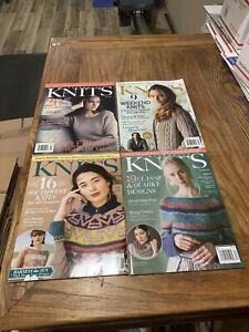 Interweave Knits Knitting Magazine Lot Fall 2016 Spring Summer 2018 Winter 2019