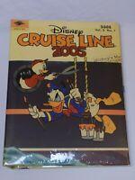 NEW Disney Cruise Line 2005 Photo Album Donald Duck Castaway Cay Mickey Mouse