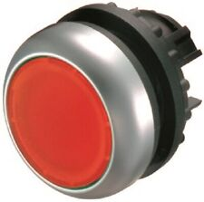 Moeller FLUSH ILLUMINATED PUSHBUTTON Spring-Return Round, Momentary, Red