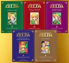 Legend of Zelda LEGENDARY EDITION English Manga Collection Set 1-5 Paperback New