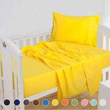 3 Piece 100% Microfiber Toddler Sheet Set 8 Deep Pocket Ultra Soft Bed Sheet Set