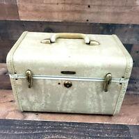 Vintage Samsonite Streamlite 4512 Make Up /Train Case  Shwayder Bros. No Key