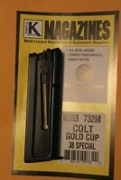 New Magazine Made by Triple K that fits a Colt Gold Cup in 38 Special 5 Round