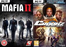 mafia 2 & crookz the big heist limited special  edition    new&sealed