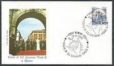 1982 VATICANO VIAGGI DEL PAPA RIMINI - RM2