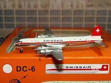 Swissair DC-6 (HB-IBU), 1:400 Aeroclassics
