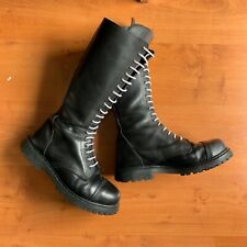 Authentic German Skinhead Boots, US Size 11,5 (UK Size 11, German SSize 45)