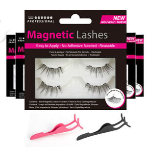 Magnetic Lashes - Accents 001 Double Wispies 110 False Eyelashes + Applicator