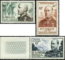 Algeria Scott #250-#252 Complete Set of 3 Mint