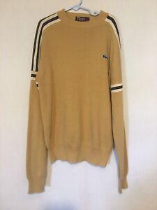 Lacoste Boy's Size 18 Tan Acrylic Sweater