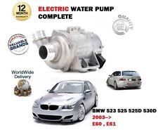 Per BMW 523 525 530 525 D 530D XI xDrive E60 E61 2003 -- > ELETTRICA NUOVA Pompa acqua