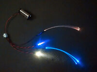 Star Wars Model Led Light Kit For Cockpit Areas Fibre Optic YELLOW & BLUE STATIC