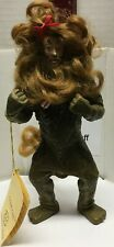 Vintage Wizard of Oz By Kurt S Adler Fabriche Collectible Cowardly Lion Figure