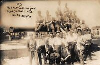 CPA 21 DIJON CARTE PHOTO 886 RALT CASERNE JUNOT LES RESERVISTES