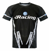 Volkswagen VW Sublimation Print T-shirt Maglietta Camiseta Polo GTI Racing GOLF