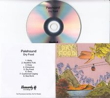 PALEHOUND Dry Food 2016 UK 8-track promo test CD