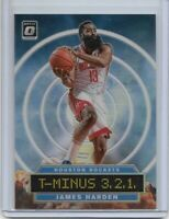 James Harden 2019-20 Donruss Optic T-Minus 3, 2, 1 Holo Prizm #4 Houston Rockets