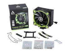 Arctic Freezer 33 Esports One Tower CPU Cooler With Bionix Fan GREEN