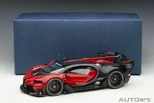 Autoart BUGATTI VISION GRAN TURISMO ITALIAN RED/BLACK CARBON 1:18 New Item*