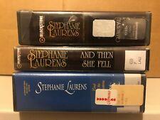 LOT of 3 STEPHANIE LAURENS ROMANCE UNABRIDGED CD AUDIOBOOKS