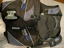 New listing Seaquest Scout Bcd Weight Integrated Large