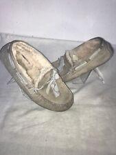 UGG Australia Donna Mocassini Grigio Pantofola UK 4/4.5 RIF Ba1