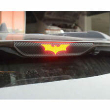 3D Carbon Fiber Adhesive Batman Brake Tail Light Vinyl Sticker Decal SUV Car NEW