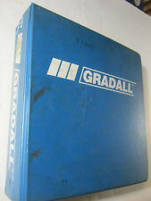 GRADALL G3WD COMBINED SERVICE MANUAL   2460-4111