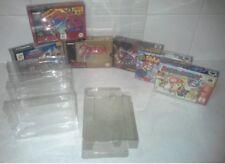 10x Video game box protector for nintendo 64 N64 & super nintendo SNES x10