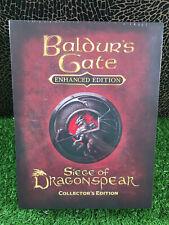 PC Game Baldurs Gate - Enhanced Edition.Siege Of Dragonspear Collector's Edition