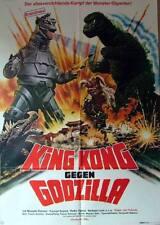 Bionic Monster GODZILLA VS. MECHAGODZILLA original 1 sheet movie poster 1971Toho