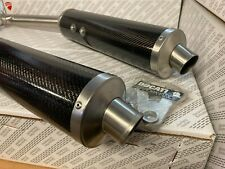Pair Silencers Racing Carbon Ducati Performance For ST4 963010AAA