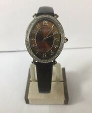 Montrichard Diamond Bezel Mother Pearl Wristwatch Swiss J25440 MustSee Beautiful