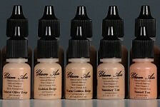 Glam Air Airbrush Water-based Foundation in 5 Assorted Medium Matte Shades (for
