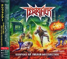 TERRIFIER - Weapons of Thrash Destruction +2 / Japan OBI New CD 2017 / Thrash /