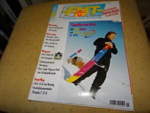 Zeitschrift FMT Nr. 554 März 2002 mit  Original Bauplan (Slow-Flyer)