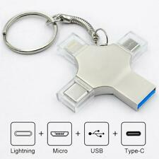 Pen Drive Flash Stick USB 3 Type C Thumb Iphone 8GB 16 32 64GB 128 256GB Memory