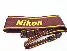 Nikon Japan Camera Official Neck Strap Brown AN-6W