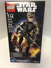 Disney Star Wars Lego 104pcs. SERGEANT JYN ERSO Buildable Figure 75119 NEW